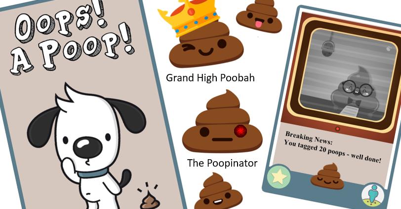 Oops! A Poop! app